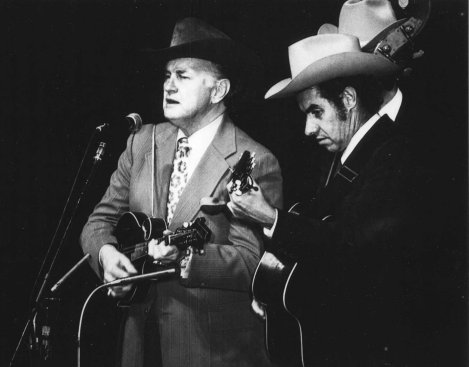Bill Monroe and Ralph Lewis