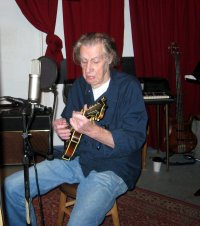 Ralph Lewis in the Studio